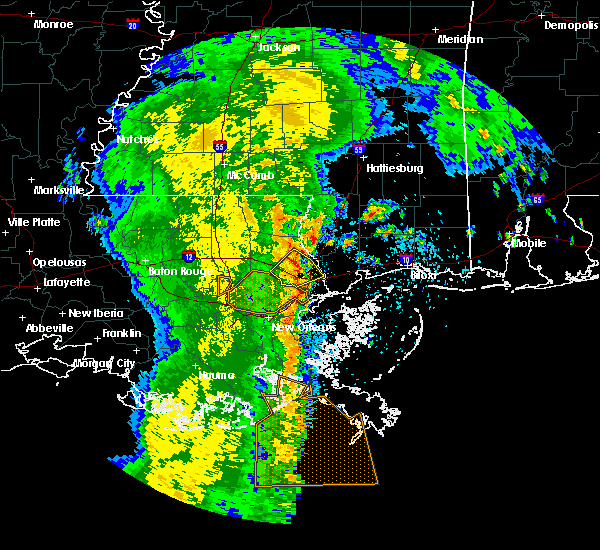 Radar Image for Severe Thunderstorms near Picayune, MS at 5/4/2019 11:16 AM CDT