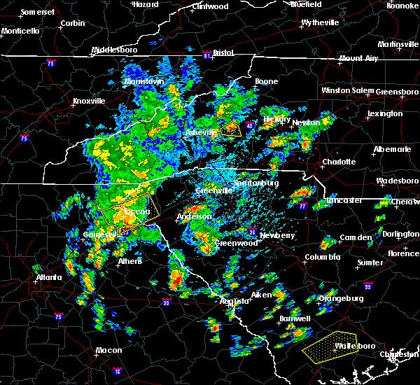 Radar Image for Severe Thunderstorms near Lincolnton, GA at 5/4/2019 3:12 PM EDT