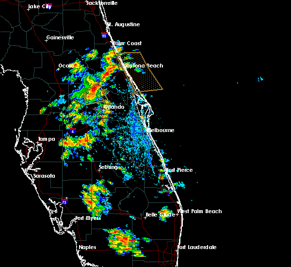 Radar Image for Severe Thunderstorms near Sorrento, FL at 5/4/2019 3:23 PM EDT