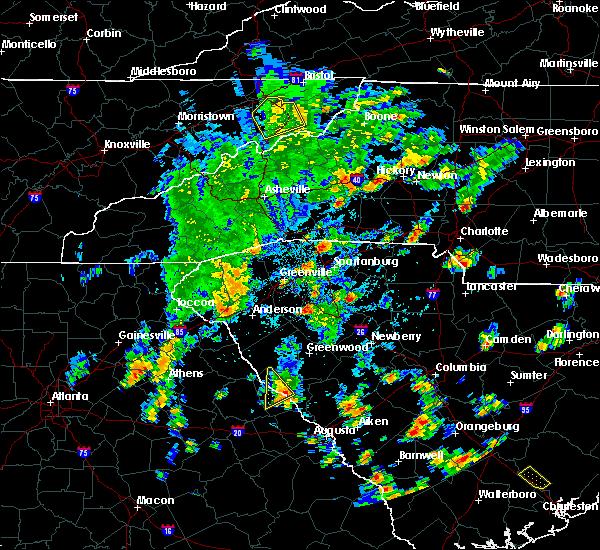 Radar Image for Severe Thunderstorms near Lincolnton, GA at 5/4/2019 3:48 PM EDT