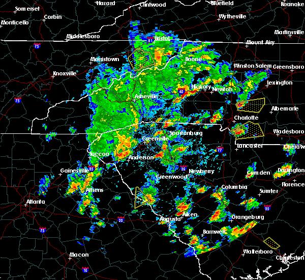 Radar Image for Severe Thunderstorms near Lincolnton, GA at 5/4/2019 3:57 PM EDT