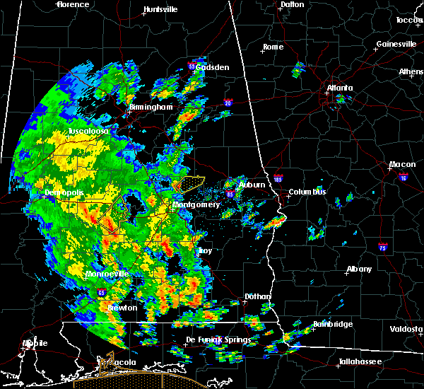 Radar Image for Severe Thunderstorms near Eclectic, AL at 5/4/2019 4:09 PM CDT