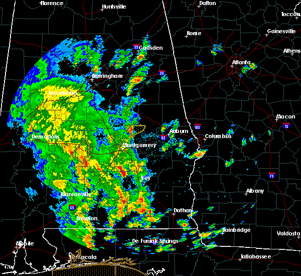 Radar Image for Severe Thunderstorms near Eclectic, AL at 5/4/2019 4:16 PM CDT