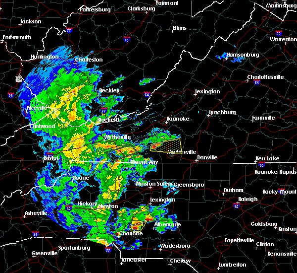 Radar Image for Severe Thunderstorms near Oak Level, VA at 5/4/2019 5:17 PM EDT