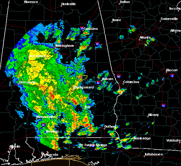 Radar Image for Severe Thunderstorms near Eclectic, AL at 5/4/2019 4:24 PM CDT