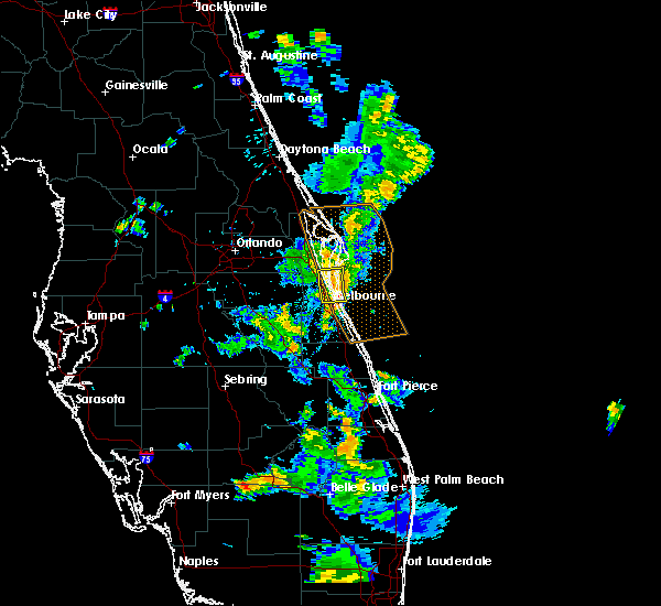 Radar Image for Severe Thunderstorms near Cocoa West, FL at 5/4/2019 5:48 PM EDT
