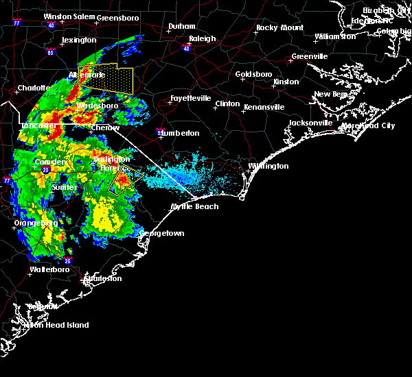 Radar Image for Severe Thunderstorms near Sellers, SC at 5/4/2019 6:16 PM EDT