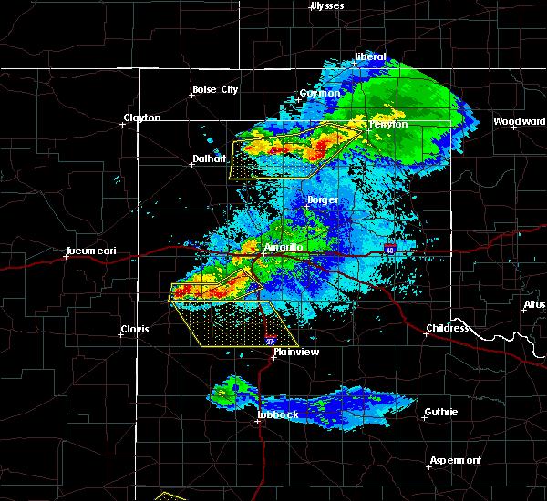 Radar Image for Severe Thunderstorms near Dimmitt, TX at 5/4/2019 9:12 PM CDT