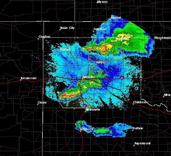 Radar Image for Severe Thunderstorms near Dimmitt, TX at 5/4/2019 9:47 PM CDT