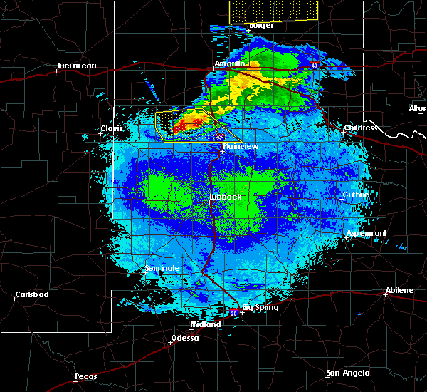 Radar Image for Severe Thunderstorms near Dimmitt, TX at 5/4/2019 10:08 PM CDT