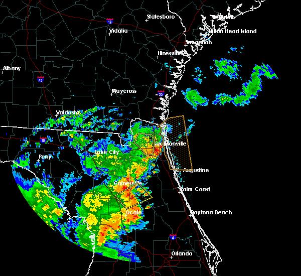 Radar Image for Severe Thunderstorms near Interlachen, FL at 5/5/2019 12:00 PM EDT