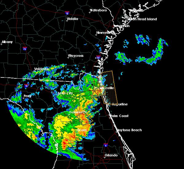 Radar Image for Severe Thunderstorms near Jacksonville, FL at 5/5/2019 12:10 PM EDT