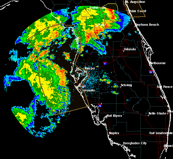 Radar Image for Severe Thunderstorms near Tampa, FL at 5/5/2019 12:25 PM EDT