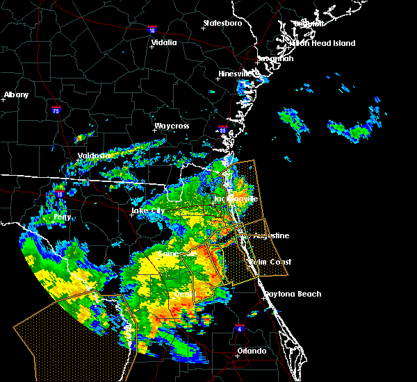 Radar Image for Severe Thunderstorms near Seville, FL at 5/5/2019 12:28 PM EDT