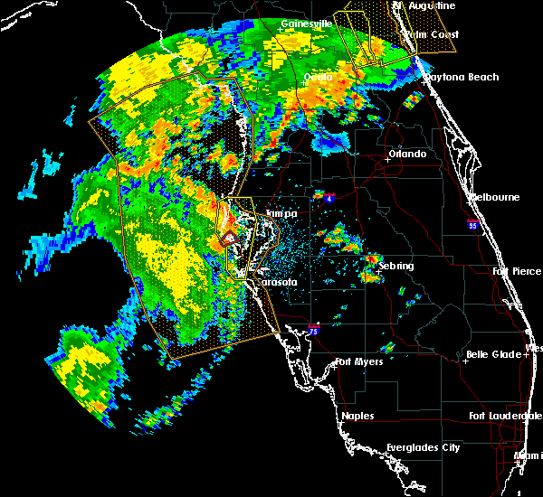 Radar Image for Severe Thunderstorms near Tampa, FL at 5/5/2019 12:47 PM EDT