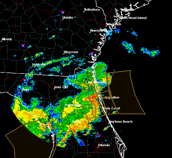 Radar Image for Severe Thunderstorms near Flagler Estates, FL at 5/5/2019 12:47 PM EDT