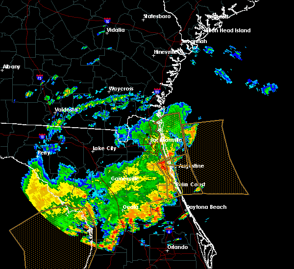 Radar Image for Severe Thunderstorms near World Golf Village, FL at 5/5/2019 12:56 PM EDT