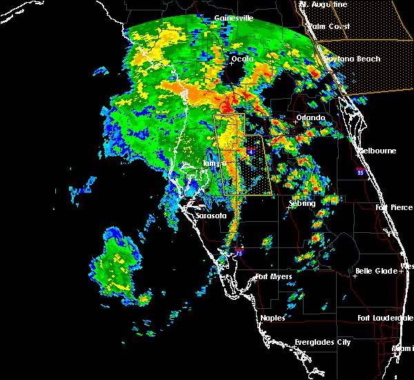 Radar Image for Severe Thunderstorms near Plant City, FL at 5/5/2019 1:47 PM EDT
