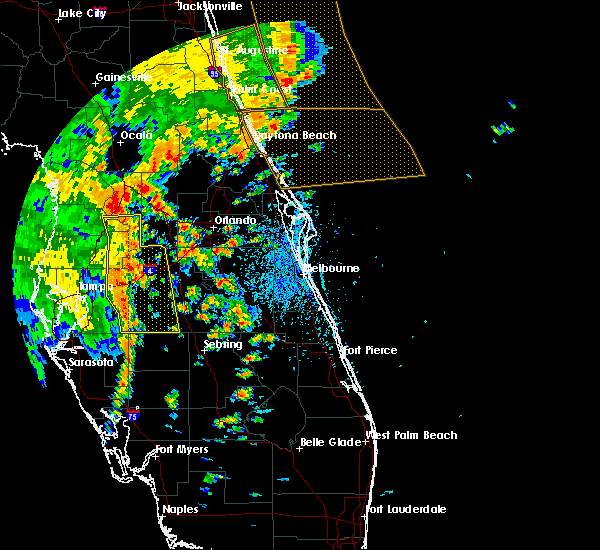 Radar Image for Severe Thunderstorms near Sorrento, FL at 5/5/2019 1:48 PM EDT