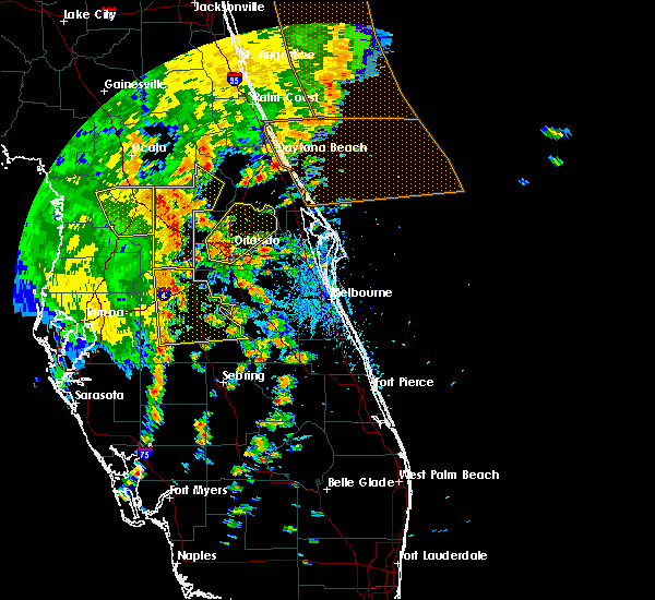 Radar Image for Severe Thunderstorms near Azalea Park, FL at 5/5/2019 2:08 PM EDT