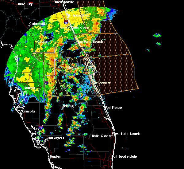 Radar Image for Severe Thunderstorms near Azalea Park, FL at 5/5/2019 2:17 PM EDT