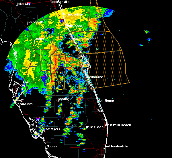 Radar Image for Severe Thunderstorms near Wekiwa Springs, FL at 5/5/2019 2:27 PM EDT