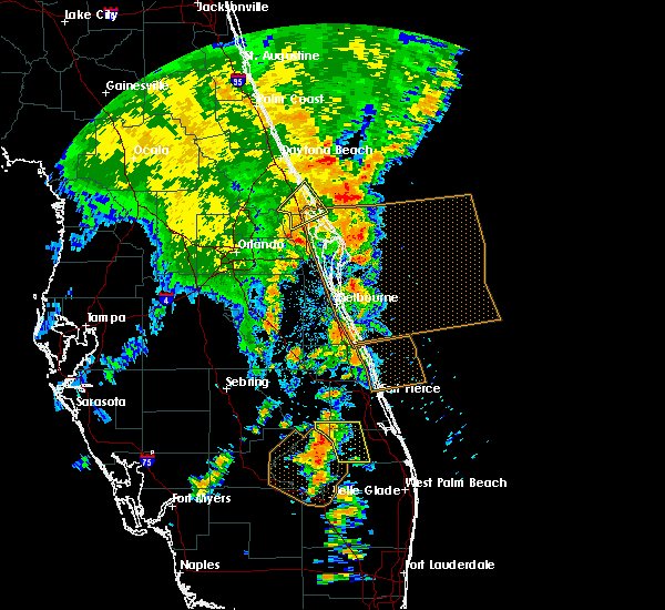 Radar Image for Severe Thunderstorms near Mims, FL at 5/5/2019 3:19 PM EDT