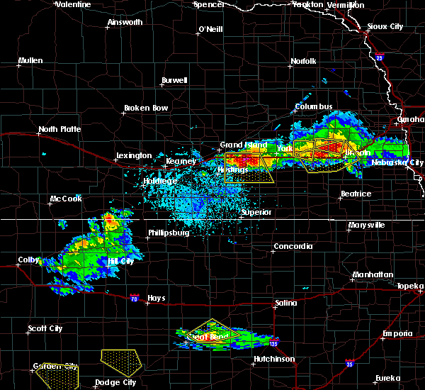 Radar Image for Severe Thunderstorms near Inland, NE at 5/5/2019 5:30 PM CDT