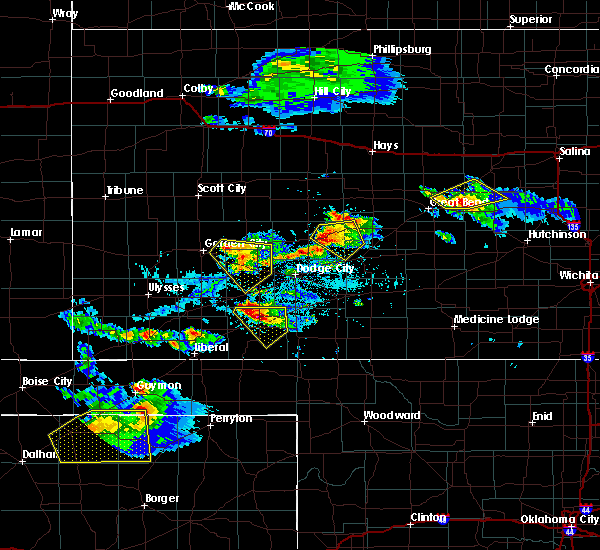 Radar Image for Severe Thunderstorms near Jetmore, KS at 5/5/2019 5:35 PM CDT
