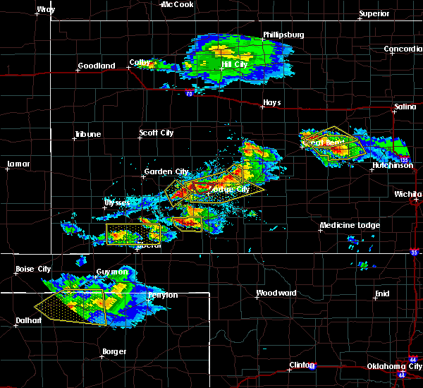 Radar Image for Severe Thunderstorms near Jetmore, KS at 5/5/2019 5:59 PM CDT