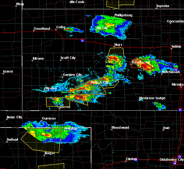 Radar Image for Severe Thunderstorms near Spearville, KS at 5/5/2019 6:30 PM CDT