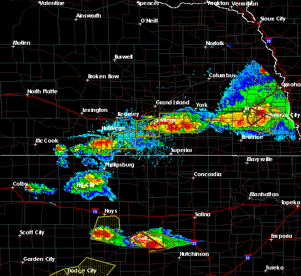 Radar Image for Severe Thunderstorms near Inland, NE at 5/5/2019 6:29 PM CDT