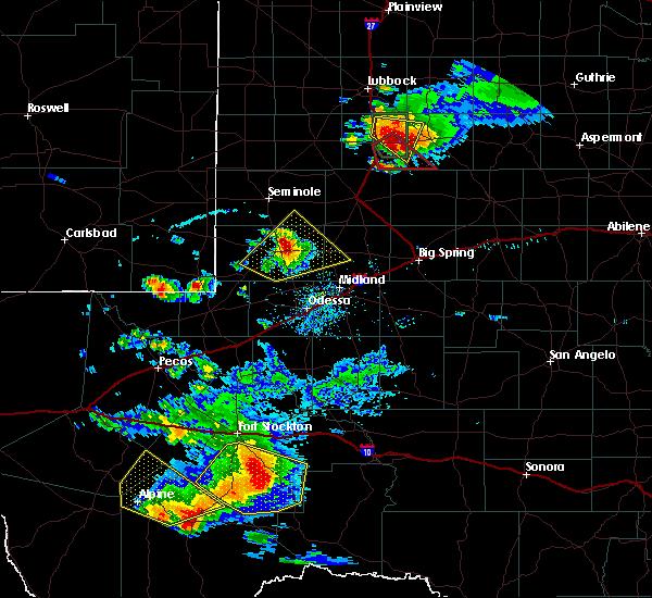 Radar Image for Severe Thunderstorms near Marathon, TX at 5/5/2019 6:30 PM CDT