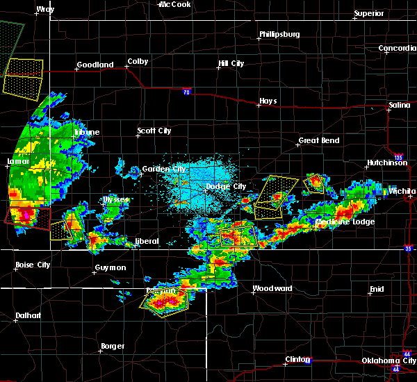 Radar Image for Severe Thunderstorms near Moscow, KS at 6/11/2015 9:37 PM CDT