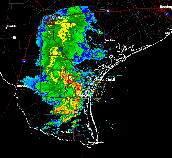 Radar Image for Severe Thunderstorms near Corpus Christi, TX at 5/6/2019 12:19 PM CDT