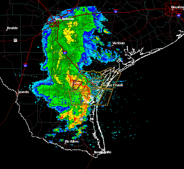 Radar Image for Severe Thunderstorms near Corpus Christi, TX at 5/6/2019 12:27 PM CDT