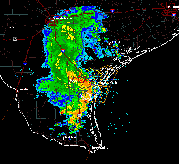 Radar Image for Severe Thunderstorms near Corpus Christi, TX at 5/6/2019 12:38 PM CDT