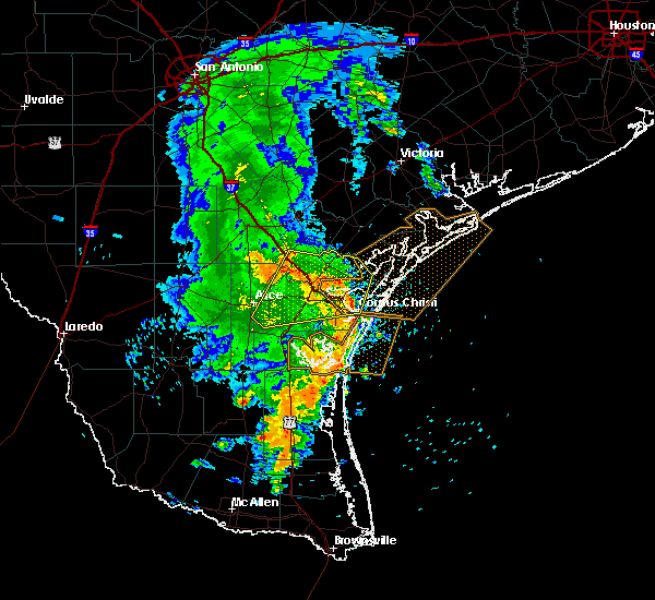 Radar Image for Severe Thunderstorms near Corpus Christi, TX at 5/6/2019 12:53 PM CDT