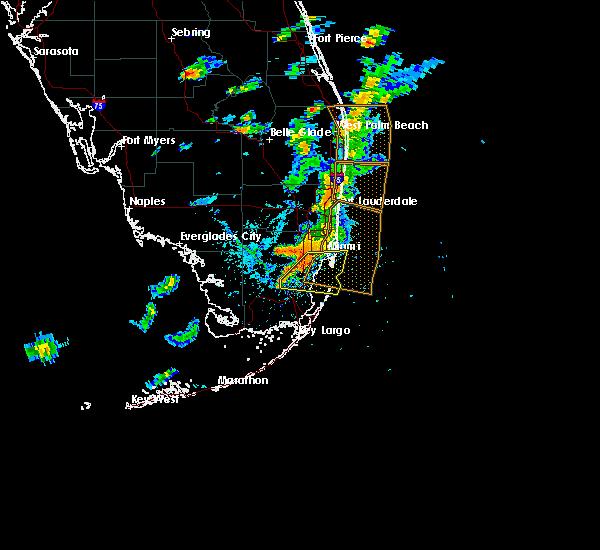 Interactive Hail Maps - Hail Map for Doral, FL on