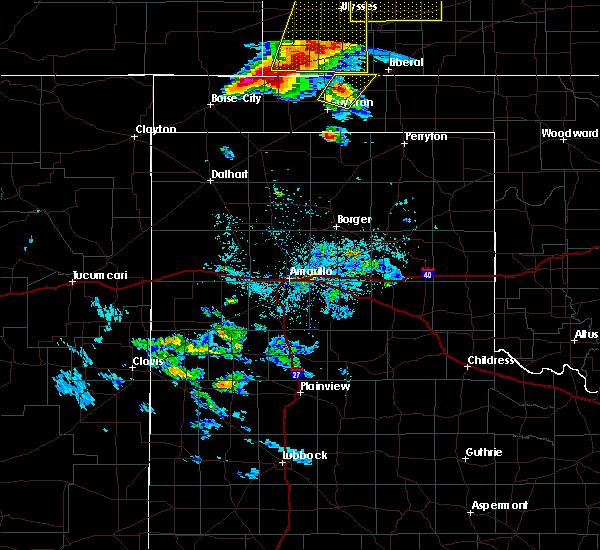 Radar Image for Severe Thunderstorms near Boise City, OK at 5/6/2019 8:55 PM CDT