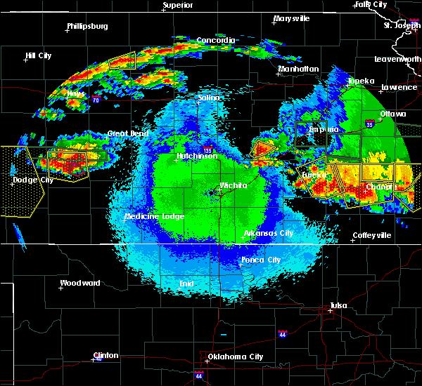 Radar Image for Severe Thunderstorms near Cedar Point, KS at 5/6/2019 9:51 PM CDT