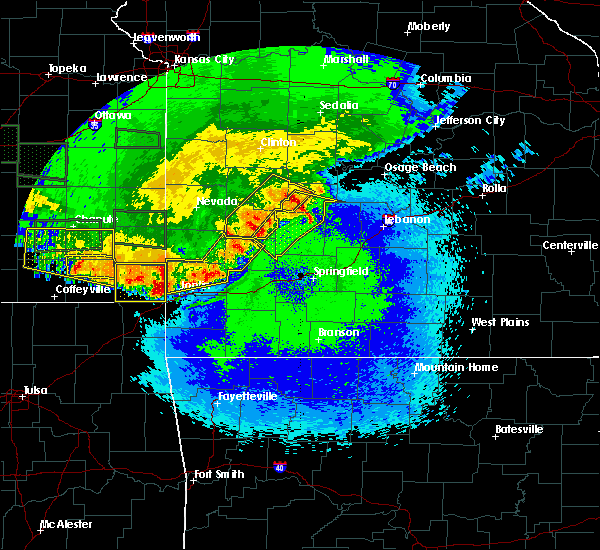 Radar Image for Severe Thunderstorms near Joplin, MO at 5/6/2019 11:28 PM CDT