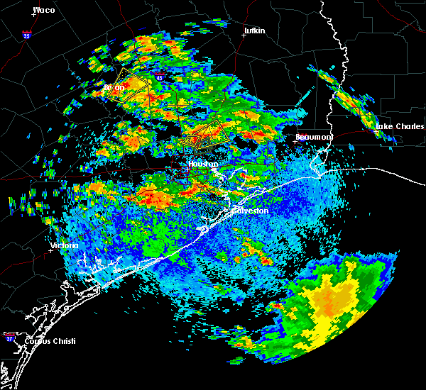 Radar Image for Severe Thunderstorms near Houston, TX at 5/7/2019 2:40 PM CDT