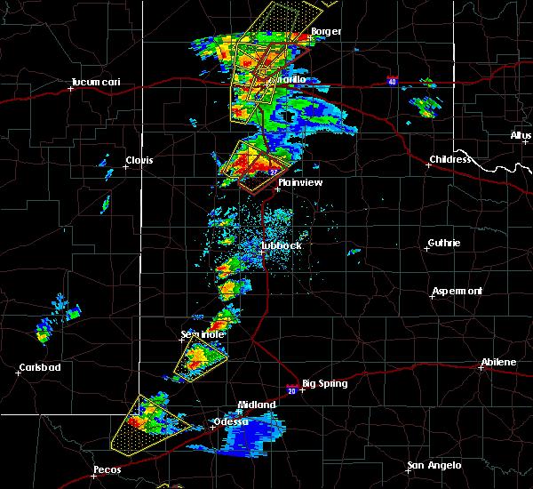 Radar Image for Severe Thunderstorms near Edmonson, TX at 5/7/2019 4:43 PM CDT