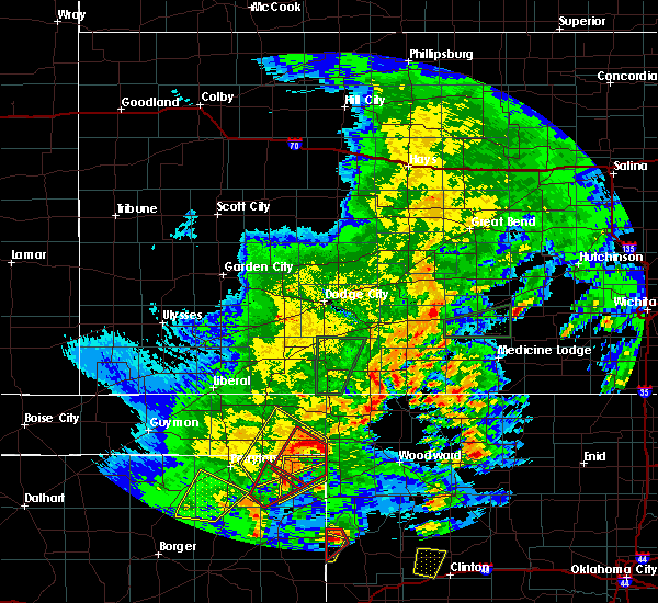 Radar Image for Severe Thunderstorms near Follett, TX at 5/7/2019 7:23 PM CDT