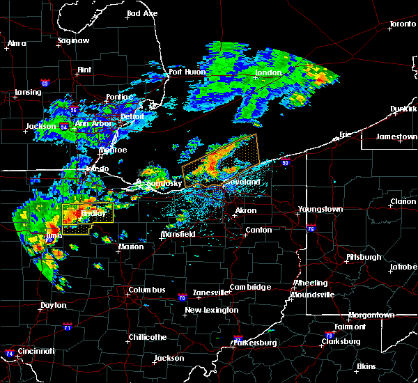 Radar Image for Severe Thunderstorms near Rawson, OH at 6/12/2015 1:52 PM EDT