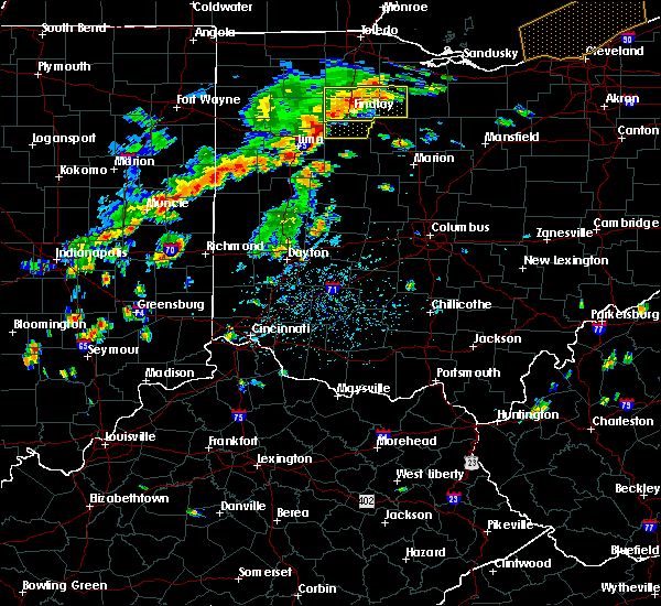 Radar Image for Severe Thunderstorms near St. Paris, OH at 6/12/2015 1:57 PM EDT