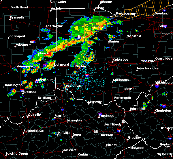 Radar Image for Severe Thunderstorms near Urbana, OH at 6/12/2015 2:13 PM EDT