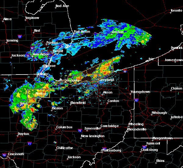 Radar Image for Severe Thunderstorms near Findlay, OH at 6/12/2015 2:13 PM EDT
