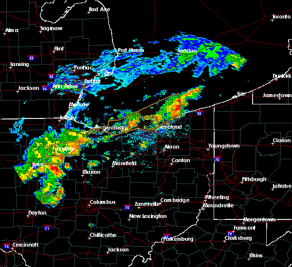 Radar Image for Severe Thunderstorms near Mount Blanchard, OH at 6/12/2015 2:21 PM EDT